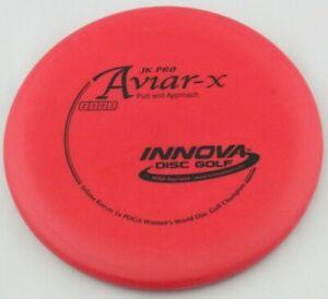 NEW JK Pro Aviar-X 172g Red Putter Innova Disc Golf at Celestial Discs