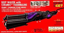 HOT TOOLS DEEP WAVER  TITANIUM INFRARED TOURMALINE CERAMIC IONIC 430F 1-3 SHIPP