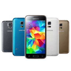 Samsung Galaxy S5 Mini 16GB Noir Bleu Blanc SM-G800 LTE WLAN Android