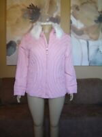 Lane Bryant Venezia Pink Down Feathers Puffer Coat NWT 18/20