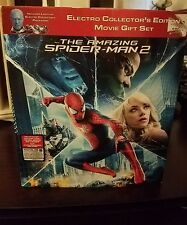 """The Amazing SPIDER-MAN 2 ELECTRO 3D Blu-ray Dvd COLLECTOR""""s EDITION Light-Up Set"""