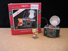 """1990 Enesco Christmas Ornament """"HERE'S LOOKING AT YOU"""" Mouse with Camera"""