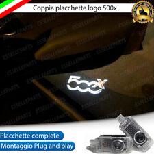 2 PROIETTORI LOGO LUCI LED LOGO 500x PORTE SOTTOPORTA CON LOGO PER FIAT 500X