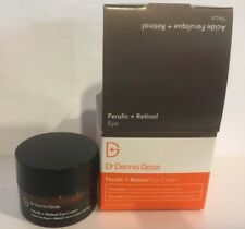 Dr Dennis Gross Ferulic Retinol Eye Cream 0.5 Ounce NIB Free Shipping