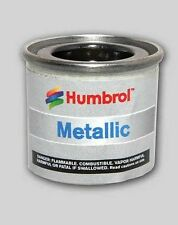 METALLIC BLACK HUMBROL Enamel Model Paint - 14ml Tin #201