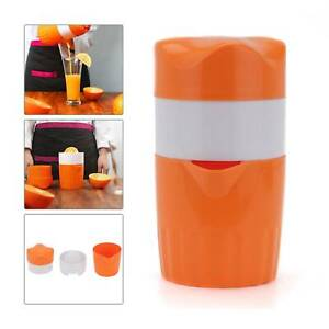 Hand Squeezer Hand Control Press Orange High Quality Plastic Fruit Press Tool