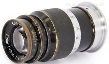 Elmar f=9cm 1:4 Black Paint Lens 90mm F4 by LEITZ Wetzlar for LEICA IIIb 3G Ig
