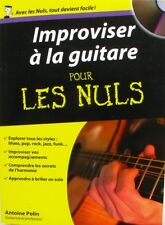 Improviser à la Guitare  pour les Nuls - Antoine Polin -  Editions First 2010