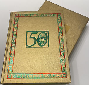 The Hobbit or There And Back Again 50th Anniversary Edition Gold /Slip Case