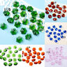 Sparkly Crystal Faceted Glass Snowflake Beads Chandelier Parts Wholesale 14mm