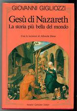 GIGLIOZZI GIOVANNI GESU' DI NAZARETH NEWTON COMPTON ANNI '90 ALBRECHT DURER