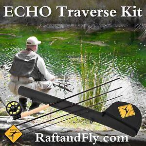 "Echo Traverse Kit 8wt 9'0"" Fly Rod Outfit - Lifetime Warranty - Free Shipping"