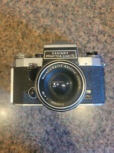 Hanimex Praktica Super TL 35mm Camera Oreston Meyer Optik Gorlitz 1.8/50 lens +