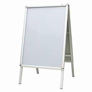 A1  A2 A-BOARD PAVEMENT SIGN POSTER SNAP FRAME DOUBLE SIDE SIGN DISPLAY STANDS