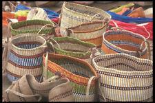 Cestino 253002 nel mercato PAGLIA Nairobi A4 FOTO STAMPA