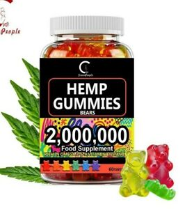 Natural Gummies For Pain, Stress, Relief Anxiety Insomnia Great Sleep- Vitamin