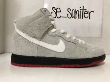 Nike SB Dunk High TRD QS Black Sheep Wolf In Sheep's Clothing 881758-110 Size 9
