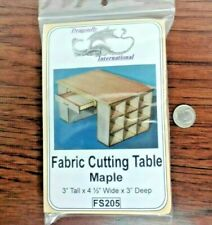 Dollhouse Miniature Fabric Cutting Table Kit by Dragonfly Int.1:12 scale