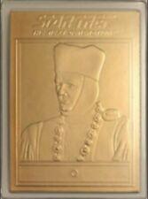 STAR TREK 22kt Gold Danbury Mint Card - 'Q'