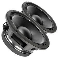 "Pair FaitalPRO 10FH530 10"" Professional Woofer Speaker 8 ohms 1,000W 97 dB 3""VC"