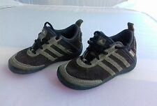 ADIDAS DAROGA Brown size infant 6 suede trainers