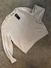 M&S Ribbed Jumper BNWT Size Large Grey Colour