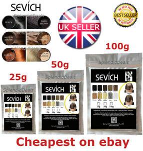 Sevich Refill Hair Fibers Keratin Building Thickening 25 50 100g Pack Fibre Loss