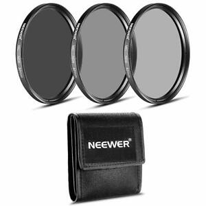 NEEWER 37MM dimming ND filter set ND2 ND4 ND8 cleaning cloth Olympus japan
