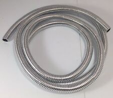 "Wire Loom 3/8"" Diameter 72"" Long Universal (Chrome)"