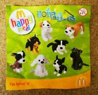 McDonalds Happy Meal Toy 2009 UK Hotel For Dogs Plush Toys - Various
