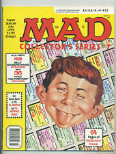 Mad Comic Magazine, sheet of no postage stamps