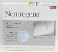 New Neutrogena Microdermabrasion System fight Wrinkles Pores Age Spots Firmness