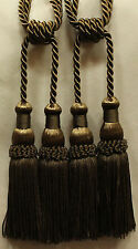 A pair of Beautifully Made Tassel in Olive Green color