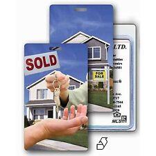Luggage Bag Travel Tag Real Estate House Sale  Flip Lenticular  #LT01-971#