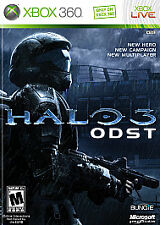 Halo 3: Odst (Microsoft Xbox 360, 2009) Disc 1 and Disc 2