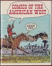 Comics of the American West by Maurice Horn (1977) HARDCOVER/DJ 1ST/1ST~HISTORY~