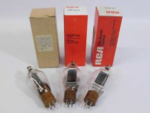 RCA & Electronic Enterprises 811A Vintage Tube Lot for Ham Radio Amplifier (NOS)