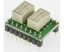1 x TE Connectivity 4PDT PCB Mount Non-Latching Relay Through Hole 1.25 A, 5V dc