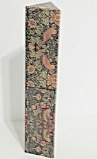 Pencils Unsharpened in Matching Decorative Container Floral Pattern, Qty 5