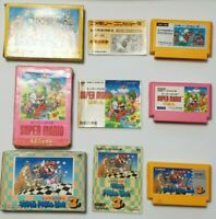 Famicom Super Mario Bros. 1 USA 3 I III Boxed Japan FC game US Sellerr