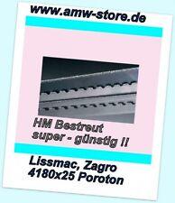 HM Bandsägeblätter Sägeband 4180 mm Poroton Lissmac 602 Zagro Avola Lochziegel L