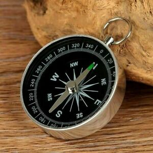 NEW Portable Pocket Compass Hiking Scouts Walking Camping Survival AID Guides UK