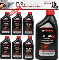 7 Quart GENUINE TOYOTA ATF WS Automatic Transmission oil Fluid ATFWS Lexus Scion