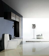 One Piece Toilet - Modern Bathroom Toilet - Dual Flush Toilet - Trapani - 26.7""
