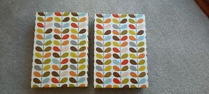 Orla Kiely decorative cardboard storage stationary boxes (2)