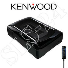 Kenwood KSC-SW11 aktiv Subwoofer 150W Car Hifi Bass Woofer Bassbox+Fernbedienung