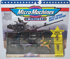 Military Micro Machines 1992 #1 FLYING FORCES F-15 EAGLE, AH-64 APACHE, F-16 MOC