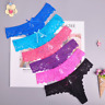 Lace Women's Sexy lingerie Thongs G-string Underwear Panties Briefs Ladies