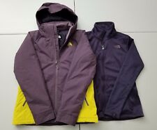 2018 The North Face Women's Insulated Agave Triclimate Jacket Size M