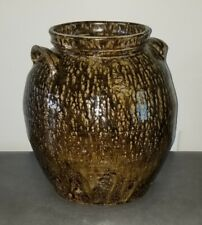 New listing Dave Edgefiled Pottery Jar Pot Slave 3 Gallon L.M. Marked Beauty Alkaline 1859
